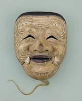 Noh masks formerly owned by Konparu Sōke (the leading family of the Konparu school)image