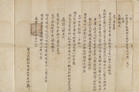 Joseon royal decree of appointment and related documentsimage