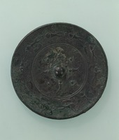 Mirror with hunting motifimage