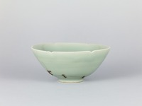 Celadon porcelain bowl, named Bakōhanimage